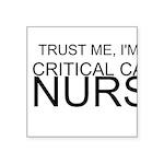 Trust Me, Im A Critical Care Nurse Sticker