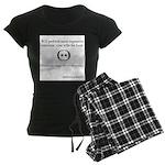 SpecGram Stupid Phonetics Women's Dark Pajamas