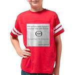 SpecGram Stupid Phonetics Youth Football Shirt