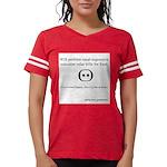SpecGram Stupid Phonetics Womens Football Shirt