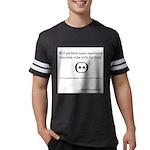 SpecGram Stupid Phonetics Mens Football Shirt