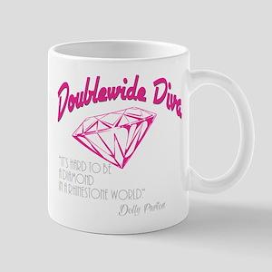 Doublewide Diva Diamond Mug