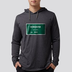 Worcester City Limits Mens Hooded Shirt