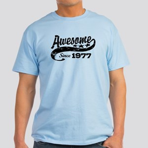Awesome Since 1977 Light T-Shirt