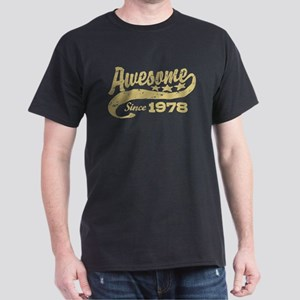 Awesome Since 1978 Dark T-Shirt