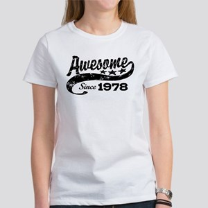 Awesome Since 1978 Women's T-Shirt