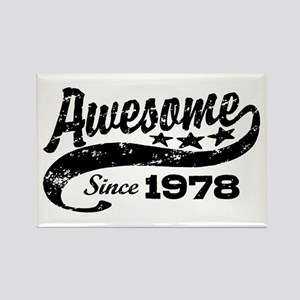 Awesome Since 1978 Rectangle Magnet