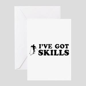 I've got Sky Dive skills Greeting Card