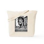 Pennsylvania Coal WPA 1938 Tote Bag