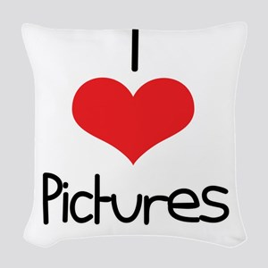 Pictures Woven Throw Pillow