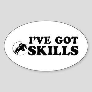 I've got Show Jump skills Sticker (Oval)