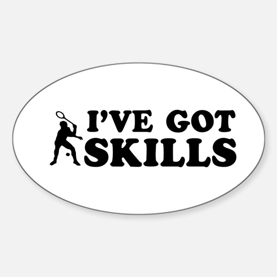 I've got Squash skills Sticker (Oval)