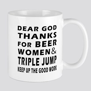 Beer Women And Triple jump Mug
