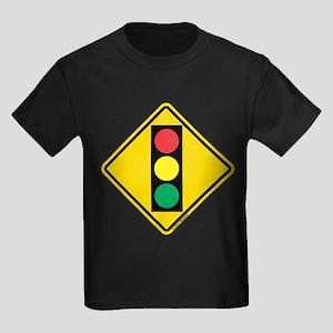 Traffic Signal Ahead Caution T-Shirt