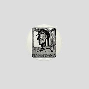 Pennsylvania Coal WPA 1938 Mini Button