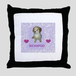 BICHAPOO Throw Pillow