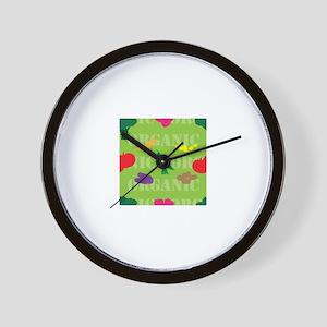 Market Seamless Wall Clock