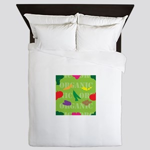 Market Seamless Queen Duvet