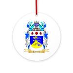 Cattuzza Ornament (Round)