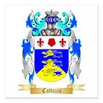 Cattozzo Square Car Magnet 3