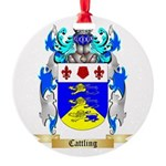 Cattling Round Ornament