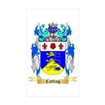 Cattling Sticker (Rectangle 50 pk)