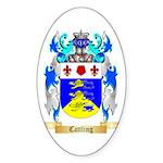 Cattling Sticker (Oval 50 pk)