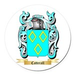 Catterall Round Car Magnet