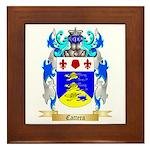 Cattera Framed Tile