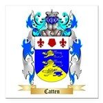 Catten Square Car Magnet 3
