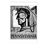 Pennsylvania Coal WPA 1938 Postcards (Package of 8