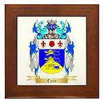 Catte Framed Tile