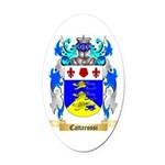 Cattarossi Oval Car Magnet