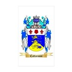 Cattarossi Sticker (Rectangle 10 pk)
