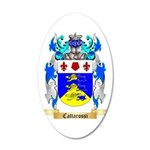 Cattarossi 35x21 Oval Wall Decal