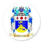 Cattarini Round Car Magnet