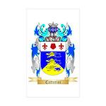 Cattarini Sticker (Rectangle 50 pk)
