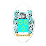 Cattarall Oval Car Magnet