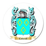 Cattarall Round Car Magnet
