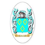 Cattarall Sticker (Oval 10 pk)