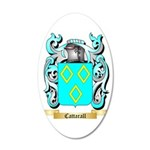 Cattarall 35x21 Oval Wall Decal
