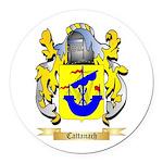 Cattanach Round Car Magnet