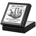 Sloth Am I Slow? Keepsake Box