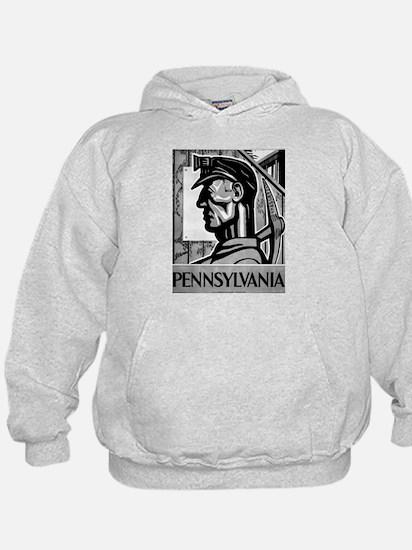 Pennsylvania Coal WPA 1938 Hoodie