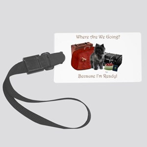 Cairn Terrier Traveler Luggage Tag
