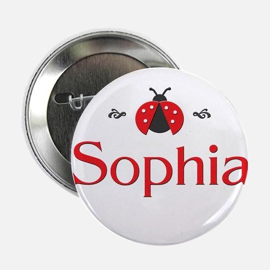 Red LadyBug - Sophia Button