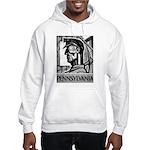 Pennsylvania Coal WPA 1938 Hooded Sweatshirt