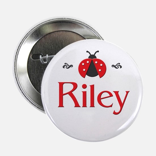 Red LadyBug - Riley Button