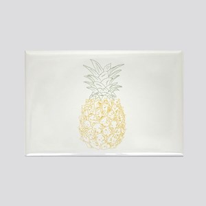 Pineapple Rectangle Magnet