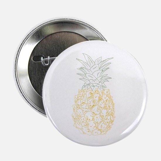 """Pineapple 2.25"""" Button"""